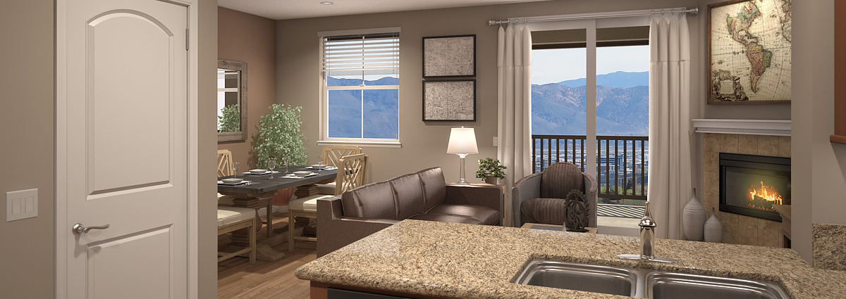 RUBY VISTA APARTMENTS 2 BEDROOM PLAN